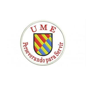 Parche Bordado UME y Lema (Unidad Militar de Emergencias)