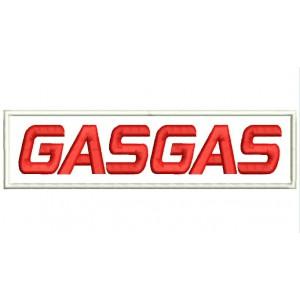 Parche Bordado GASGAS (Letras)