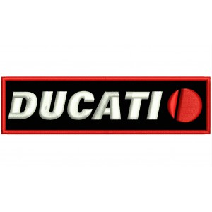 Parche Bordado DUCATI (Logo 1998 TPG)