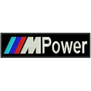 Parche Bordado BMW MPower