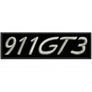 Parche Bordado Porsche 911 GT3