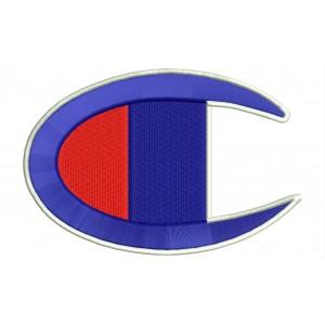 Parche Bordado CHAMPION (Logo)