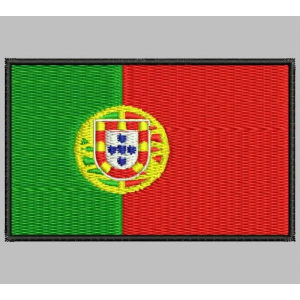 Bandera de Portugal Portugu/és Parche Bordado de Aplicaci/ón con Plancha