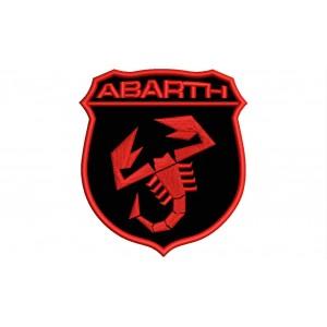 Parche Bordado ABARTH (Monocolor)