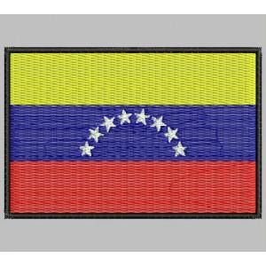 Parche Bordado Bandera VENEZUELA