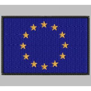 Parche Bordado Bandera EUROPA (UNION EUROPEA)