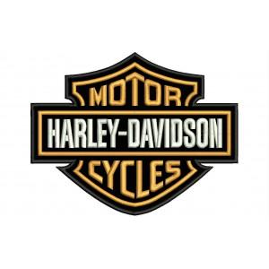 Parche Bordado HARLEY DAVIDSON (Motor Cycles)