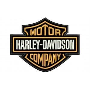 Parche Bordado HARLEY DAVIDSON (Motor Company)
