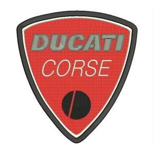 Parche Bordado Logo DUCATI CORSE