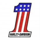 Parche Bordado HARLEY DAVIDSON (USA Number 1)