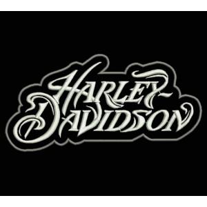Parche Bordado HARLEY DAVIDSON (Letras 1)