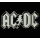 Parche Bordado AC-DC (Color BLANCO)
