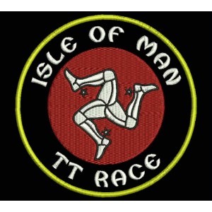 Parche Bordado ISLE OF MAN TT RACE