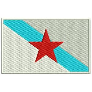 Parche Bordado Bandera GALICIA (Estreleira)