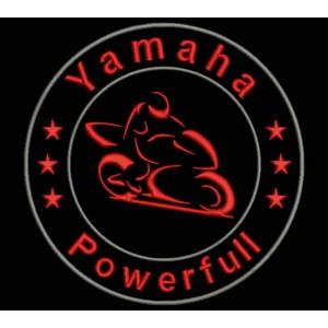 Parche Bordado YAMAHA POWERFULL