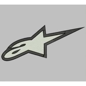 Parche Bordado ALPINESTARS (Logo)