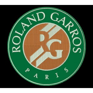 Parche Bordado ROLAND GARROS