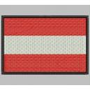 Parche Bordado Bandera AUSTRIA