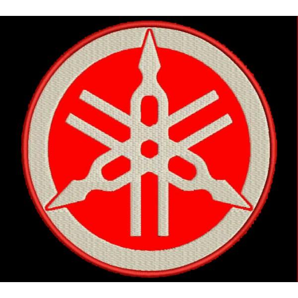 Parche Bordado Yamaha Logo Parches Y Bordados