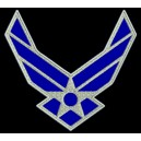 Parche Bordado US AIR FORCE (LOGO)