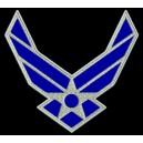 Parche Bordado US AIR FORCE (LOGO)