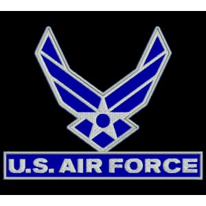 Parche Bordado US AIR FORCE (USAF)