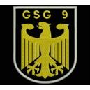 Parche Bordado GSG9 (Color ORO)