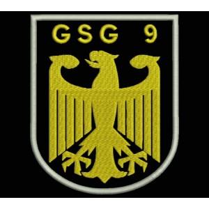 Parche Bordado GSG9 (Guardia Fronteriza)