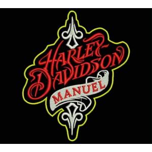 Parche Bordado HARLEY DAVIDSON (Personalizable)