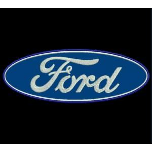Parche Bordado FORD (Logo)
