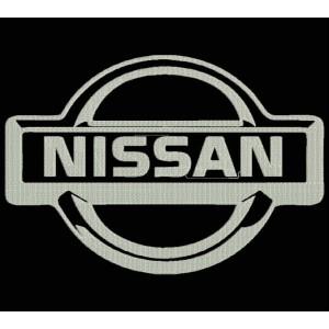 Parche Bordado NISSAN (Logo)