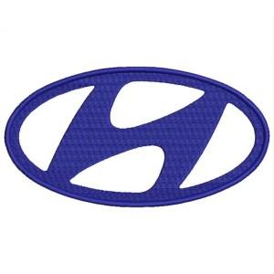 Parche Bordado HYUNDAI (Logo)