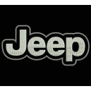 Parche Bordado JEEP (Color BLANCO)