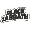 Parche Bordado BLACK SABBATH (Color NEGRO)