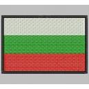 Parche Bordado Bandera BULGARIA