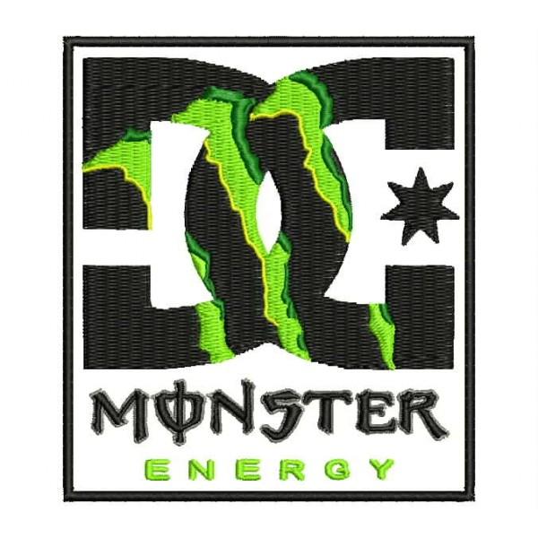 Parche Bordado DC MONSTER ENERGY