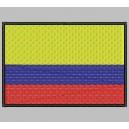 Parche Bordado Bandera COLOMBIA