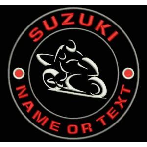 Parche Bordado SUZUKI (Personalizable)