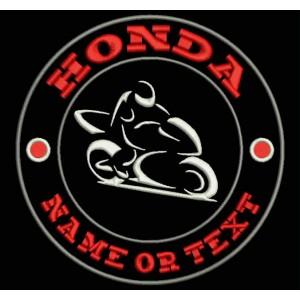 Parche Bordado HONDA (Personalizable)