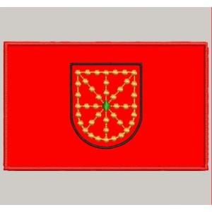 Parche Bordado Bandera NAVARRA