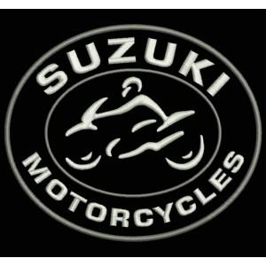 Parche Bordado SUZUKI MOTORCYCLES