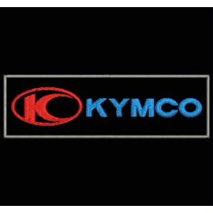 Parche Bordado KYMCO (Logo Horizontal)