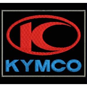 Parche Bordado KYMCO (Logo Vertical)