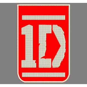 Parche Bordado One Direction Logo Vertical