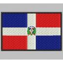 Parche Bordado Bandera REP. DOMINICANA