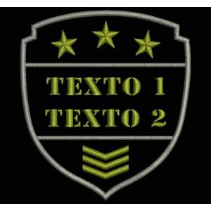 Parche Bordado AIRSOFT TEXTO (Personalizable)