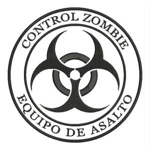 Parche Bordado ZOMBIE CONTROL