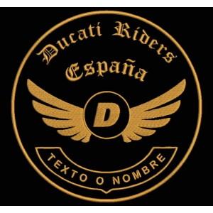 Parche Bordado DUCATI RIDERS (Personalizable)