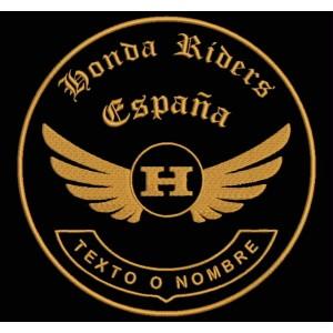 Parche Bordado HONDA RIDERS (Personalizable)