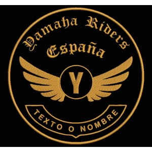 Parche Bordado YAMAHA RIDERS (Personalizable)